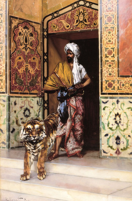 The Pashas Favourite Tiger
