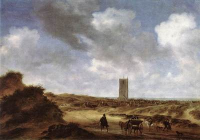 View of Egmond aan Zee WGA