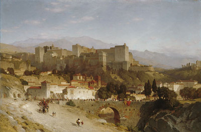 Colman Samuel The Hill Of The Alhambra Granada