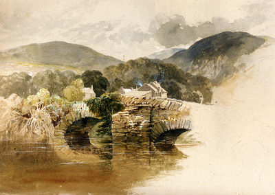 Palmer Samuel Beddgelert Bridge North wales