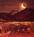 Palmer Samuel Cornfield By Moonlight