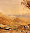 Palmer Samuel The Porta Di Posillipo And The Bay Of Baiae Italy
