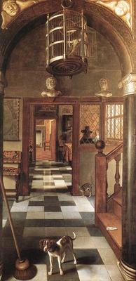 HOOGSTRATEN Samuel van View of a Corridor