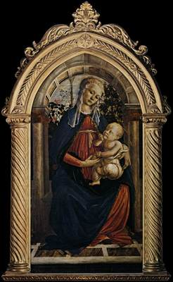 BOTTICELLI Sandro Madonna Of The Rosegarden