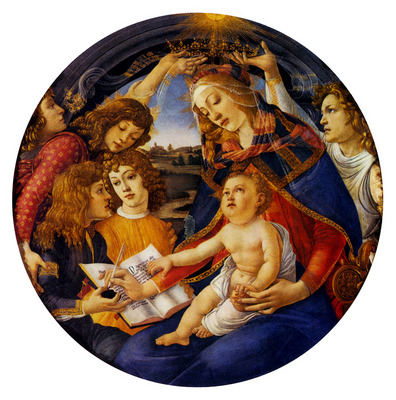 Botticelli Sadro Madonna Of The Magnificat