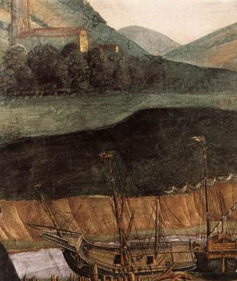 botticelli the punishment of korah detail