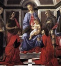 BOTTICELLI Sandro Madonna And Child With Six saints