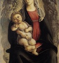 BOTTICELLI Sandro Madonna In Glory With Seraphim