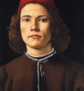 Botticelli Sandro Portrait of a young man