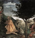 botticelli scenes from the life of moses detail