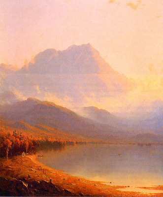 Gifford Sanford Robinson Morning in the Adirondacks