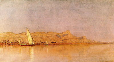Gifford Sanford Robinson On the Nile Gebel Shekh Hereedee