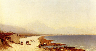 Gifford Sanford Robinson The Road by the Sea Palermo Italy