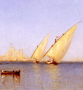 Gifford Sanford Robinson Fishinng Boats coming into Brindisi Harbor