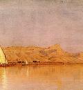 Gifford Sanford Robinson On the Nile Gebel Shekh Hereedee