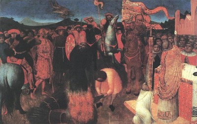 SASSETTA Death Of The Heretic On The Bonfire