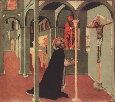 SASSETTA St Thomas Before The Cross