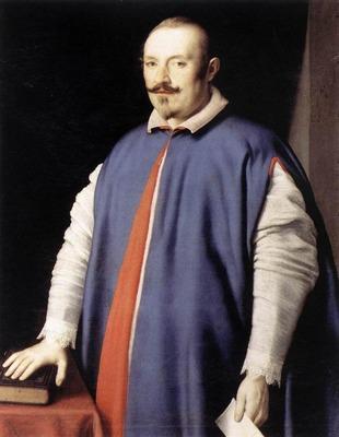 SASSOFERRATO Portrait Of Monsignor Ottaviano Prati