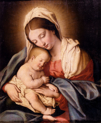 Salvi Giovanni Battista Madonna And Child