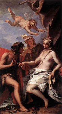 RICCI Sebastiano Bacchus And Ariadne