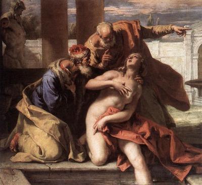 RICCI Sebastiano Susanna And The Elders