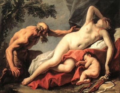 RICCI Sebastiano Venus And Satyr