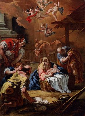 Ricci Sebastiano Adoration Of The Shepherds