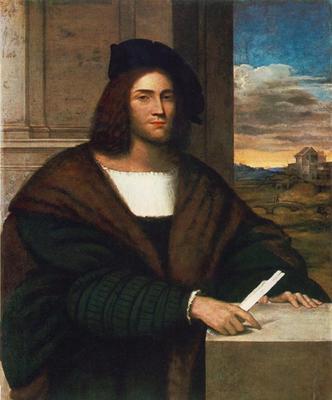 Piombo Sebastiano del Portrait of a Man
