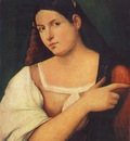 Piombo Sebastiano del Portrait of a Girl