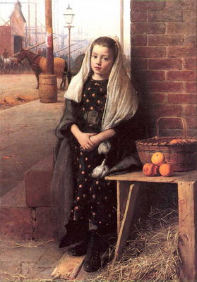 Guy Joseph Seymour The Little Orange Girl