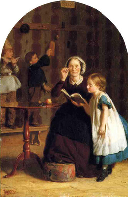 Guy Seymour Joseph The Reading Lesson