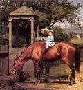 Guy Joseph Seymour Equestrian portrait