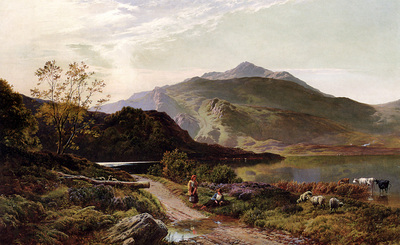 Percy Sidney Richard A Rest On The Roadside
