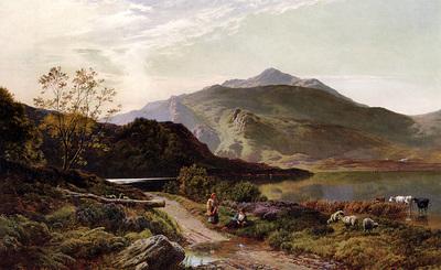 Percy Sidney Richard A Rest On The Roadside
