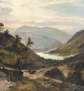 Percy Sidney Richard The Path Down to the Lake North Wales