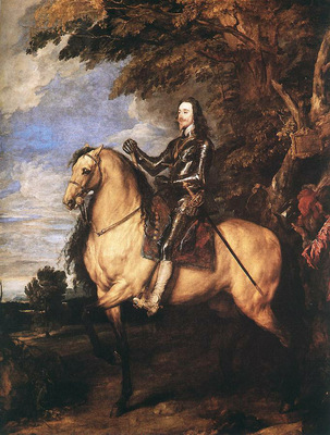 CharlesI on Horseback WGA