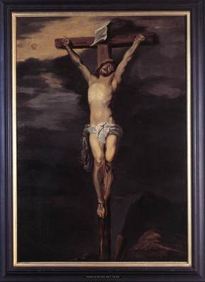 DYCK Anthony Van Christ on the Cross