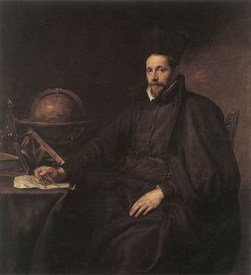 DYCK Anthony Van Portrait of Father Jean Charles della Faille S J