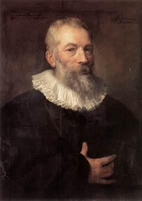 DYCK Anthony Van Portrait of the Artist Martin Pepijn