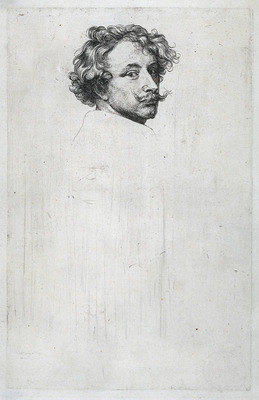 Dyck Anthony van Self portrait c1630