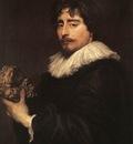 DYCK Anthony Van Portrait of the Sculpor Duquesnoy