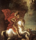 DYCK Anthony Van St George and the Dragon
