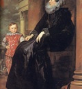 Genoese Noblewoman with her Son CGF