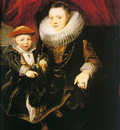 Young Woman with a Child CGF
