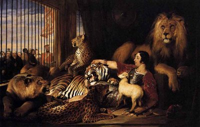 LANDSEER Sir Edwin Henry Isaac Van Amburgh And His Animals