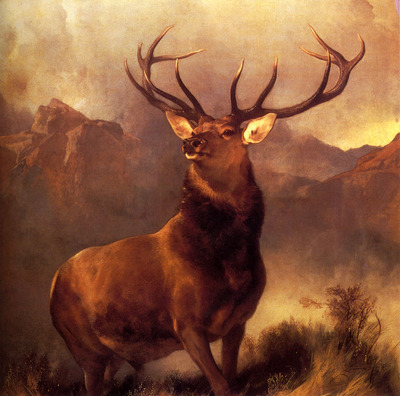 Landseer Sir Edwin Monarch Of The Glen