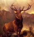 Landseer Sir Edwin Monarch Of The Glen