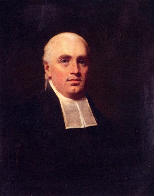 Raeburn Henry Portrait Of The Rev Wiilaim Paul