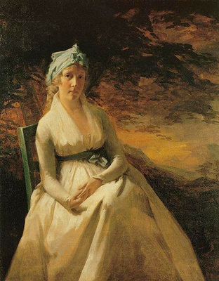 Raeburn Sir Henry Portrait of Mrs  Andrew