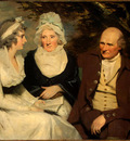 Raeburn Sir Henry John Johnstone Betty Johnstone and Miss Wedderburn